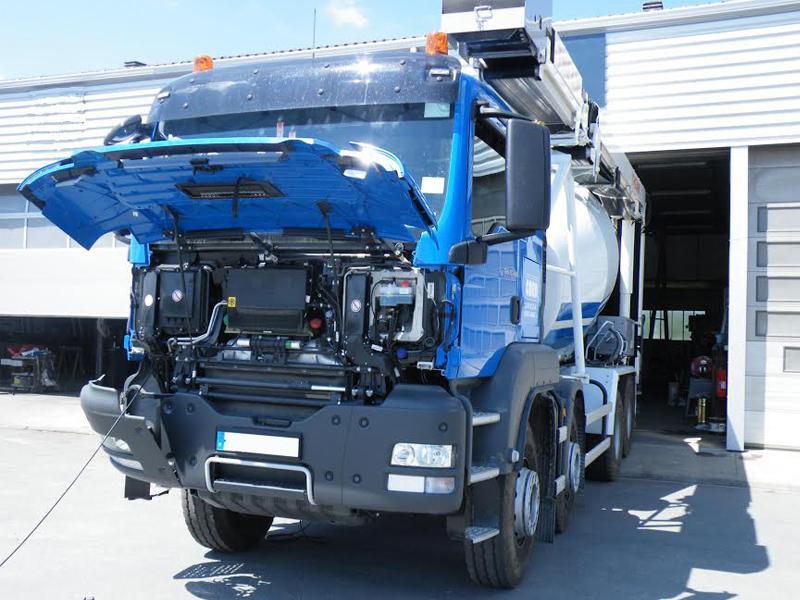 Garage poids lourds le mans pi ces poids lourds laval for Garage pour utilitaire